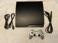 Sony PlayStation 3 PS3 Slim 320GB Console With Controller, Charger and Cables