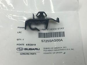 2005-2009 Subaru Front Hood Rod Clamp Clip Bracket Legacy Outback 57255AG00A EOM