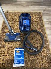 Kenmore Bc4026 600 Series Bagged Canister Vacuum w/ Pet PowerMate - Blue