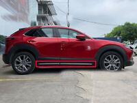 RUIYA 2 Packs Car Door Side Storage Box with 2019 2020 Mazda CX-30 Car Accessories Insert ABS Black Materials Tray Storage Box Front Door
