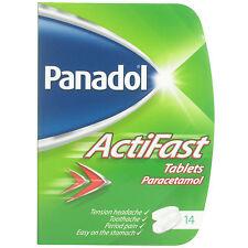 Panadol Actifast Tablets - 14 Tablets