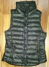 GAP WOMENS Ultra Light DOWN Packable Winter Puffer Vest Jacket Small Black