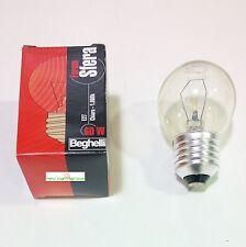 Lampadina sfera chiara 60W E27 marca Beghelli conf. 10 pezzi