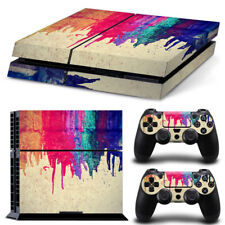 Cool Colorful Custom Sticker for PS4 PlayStation 4 Console Controller Skin Cove