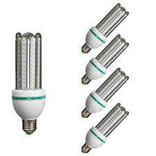 Bombilla LED 4u tubo E27 6400K 16 W PACK-5