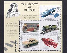 Great Britain - Classic Transport Toys 2003 Miniature Sheet MNH