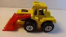 Matchbox #29 Yellow Shovel Nose Tractor w/ red scoop - Loose & Nice