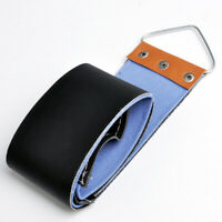 1X Canvas Faux Leather Sharpening Strop DIY for Shaving Razor Barber Strap Tool