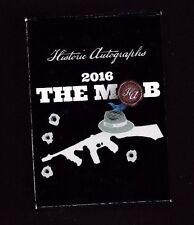 HISTORIC AUTOGRAPHS 2016 THE MOB COMPLETE SET