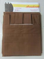 Tenda tendone Iride con passanti 75% cotone 140x300 cm colore marrone coprente