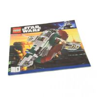 1x Lego Bauanleitung Heft 1 Star Wars Salve I 3rd Raumschiff 8097