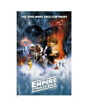 STAR WARS THE EMPIRE STRIKES BACK MOVIE ROLLED POSTER PRINT  SLOT #18