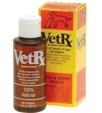 VetRx respiratory ailments, colds, wheezing, sniffles for Dogs & Puppies 2 oz