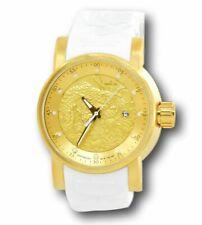 Invicta S1 Rally Yakuza Automatic 19546 Men's Gold Dragon 48mm Silicone Watch