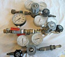 New listing Lot of Matheson Gas Regulator Valve Dual Gauge 3536 Series Ashcroft Steampunk