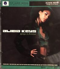 Alicia Keys Songs in A Minor DVD-AUDIO, 2003 Very Rare, Like New DVD-A
