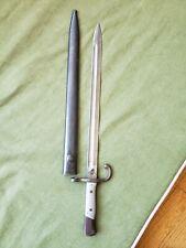 Argentine Model 1891 Mauser Bayonet Weyersburg Germany