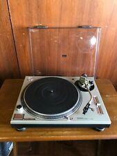 Technics SL-1200MK6 silver color DJ Turntable w/ shure M44G cartridge