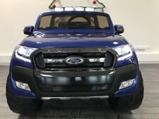 4X4 électrique enfant Ford Ranger Bleu métallisé - 4 roues motrices - 12V