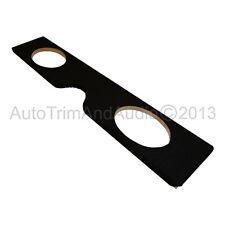 Classic Mini Under Rear Seat Kick Board - 6x9 Speaker Holes Black Carpet