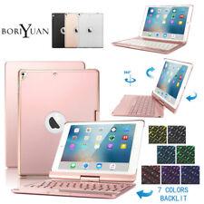 "Boriyuan Bluetooth Backlit Keyboard Case For iPad 9.7"" 5/6th Air 3/2/1 Pro 11"""
