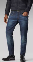 G-Star Raw 3301 Low Tapered Jeans Vintage Dark Aged W32 L34 *REF72-14