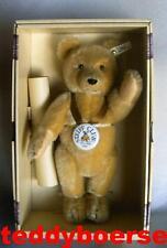 STEIFF ORIGINAL Baby Bär • Replik von 1946 im Originalkarton + Zertifikat