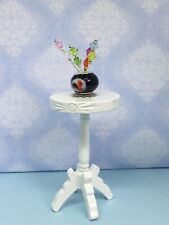 Dolls House Miniature Handmade Hat Pins In A Lamp Work Glass Pot