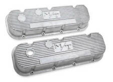 Big Block Chevy M/T Valve Covers Vintage Style Finned 241-87
