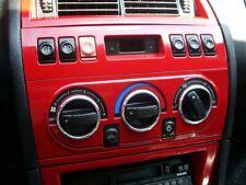 Fiat Coupe 1994-2000 Aluminium Ringe für Lüftungsregler / Heizungsregler