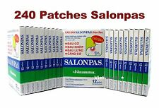 20X12 packs (w. carton) Salonpas Patches Plasters Pain Relief Arthritis Back