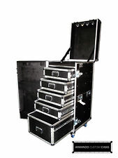 5 Drawer WorkBox Heavy Duty Road Case Made In USA