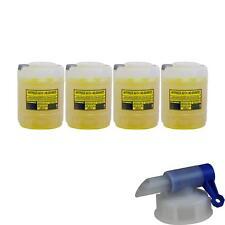 4x 20 L Mannol Kühlerfrostschutz Fertiggemisch Ag13 gelb Auslaufhahn