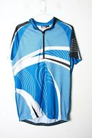 Crivit Sports Mens Short Sleeved Cycling Top - Blue - Size L Large - (L-LL5)