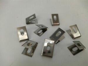 100PCS U Type Blades for Wheeled Groover of Vinyl Floor Welding Tool Spare Parts