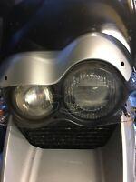 BMW R1150GS Headlight Guard Free Shipping To UK, Worldwide Shipping £8