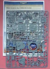 Warhammer World Exclusive Space Marine HQ COMMAND TANK  Upgrade SPRUE & RULES