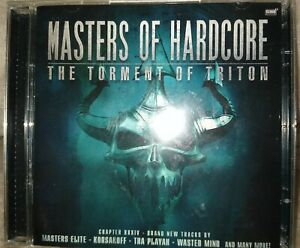 MASTERS OF HARDCORE: CHAPTER XXXIV - THE TORMENT OF TRITON 2CD GABBER HARDSTYLE