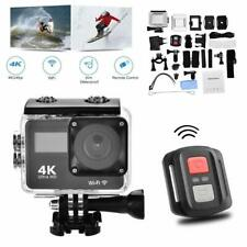 4K Wifi HD Sports Action Helmet Camera Cam DV Camcorder Go Pro Remote Waterproof