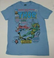 The Mighty Thor Journey Into Mystery Men's Xl Blue T-Shirt Marvel 100% Cotton