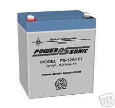 POWER-SONIC PS-1250,12 Volt SLA Battery