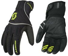 GUANTI GLOVES MOTO ENDURO CROSS SCOTT RIDGELINE NERO FLUO NEOPRENE NERO TG L