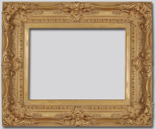 "4.5"" WIDE Antique Gold Leaf Ornate Oil Painting Wood Picture Frame 780G - 8""x10"""