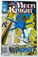 Marvel MARC SPECTOR MOON KNIGHT (1989)#4 Signed by Chuck Dixon VF/NM SHIPS FREE!