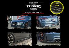 Bodykit Frontspoiler Diffusor Schweller ABS für Audi TTS 8J ABE Carbon Optik