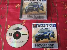 collection  jeux PS1 Playstation Colin Mc Rae Rally avec notice