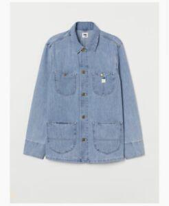 Lee X HM Denim Chore Jacket light blue XL