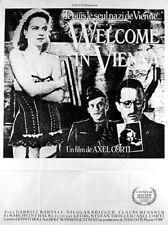 Affiche 120x160cm WELCOME IN VIENNA trilogie d'Axel Corti 82/86 - Gabriel Baryll