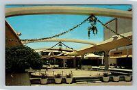 Atlanta GA, Lenox Square Shopping Center, Chrome Georgia Postcard