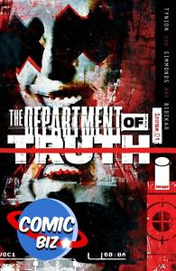 DEPARTMENT OF TRUTH #1 (2021) 6TH PRINTING SIMMONDS VARIANT COVER IMAGE COMICS